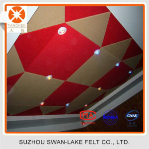 Soundproofing Materials Suzhou Polyester Fiber Acoustic Wall Panel for Decoration