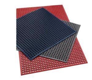 Anti-Slip Rubber Mat Rubber Grass Mat, Rubber Hollow Mat pictures & photos