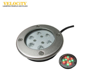 6W/12W Stainless Steel IP68 RGB LED Underwater Light for Outdoor Pool Lighting
