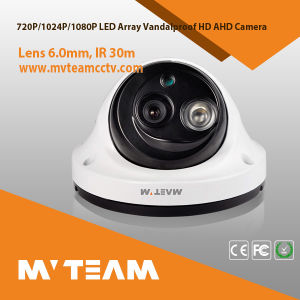 Anti Theft System CCTV Security Camera LED Array Night Vision Vandalproof with Tvi Cvi Ahd Cvbs Analog Mvt-Tah61n pictures & photos
