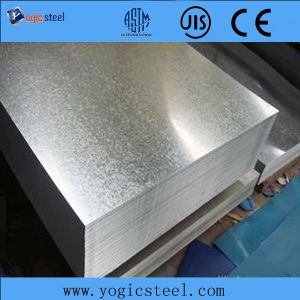 Factory Price Dx51d/SGCC Galvanized Steel Sheet/Plate for Kunlun Bank pictures & photos