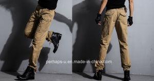 New Design Mens Cotton Cargo Pants pictures & photos