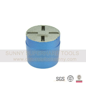Diamond Grinding Plug Single Round Segment for Concrete Stone pictures & photos