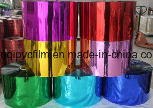 Metallized Rigid PVC Film for Christmas Tree Leaves pictures & photos