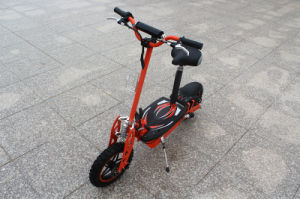 800W /48V Brushless 2 Wheel Electric Scooter with Big off-Road Wheel pictures & photos