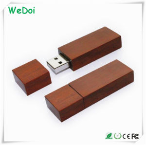 Cheap Promotional Wooden USB Pen Drive with 1 Year Warranty (WY-W22) pictures & photos