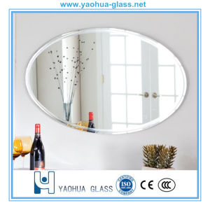 3-12mm Safety Beveled Mirrors with Sliver Mirror and Aluminum Mirror