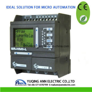 Mini PLC Sr-12mrac, AC110-220V, 8 Point AC Input, 4 Point Relay Output pictures & photos