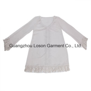 Embroidery Women Ladies Girls Cotton Blouse
