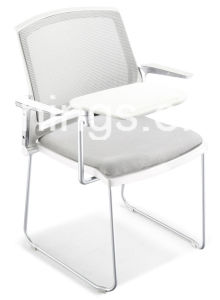 Writing Panel Metal Frame Trainee Chair