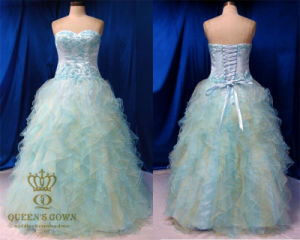 High Quality Organza Prom Dresses. Princess Dress pictures & photos