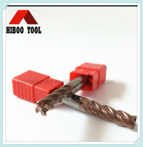 High Quality HRC45 Copper Coating Corner Raduis Carbide Tool pictures & photos