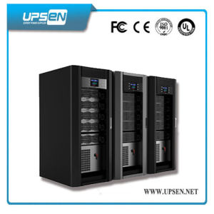 10k-200kVA Three Phase Online Modular UPS with N+X Redundancy pictures & photos