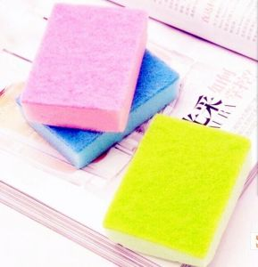 Colorful Scouring Pad, Cleaning Sponge, pictures & photos