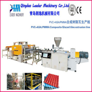 Plastic PVC Corrugated Roofing Sheet Machine pictures & photos
