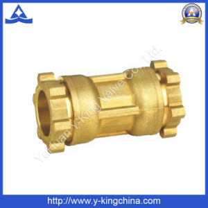 Brass Coupling Copper Fitting with Compression Ends (YD-6051) pictures & photos