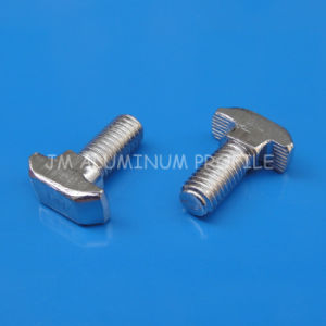 Carbon Steel M6 T Head Bolt Combine with Flange Nut pictures & photos
