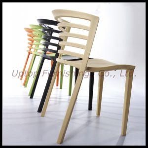 Wholesale Stackable Cafe Restaurant Plastic Chair (sp-uc295) pictures & photos