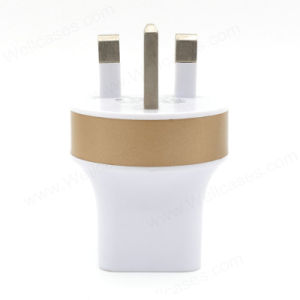 Hot Selling Micro USB UK Plug Wall Charger for iPhone pictures & photos