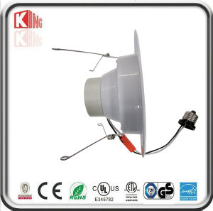 ETL 120VAC GU10/E26 Base LED Downlight Housing