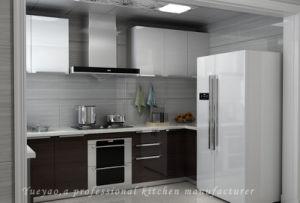 Modern Design MFC Kitchen Door Small Wooden Kitchen Furniture (M020)