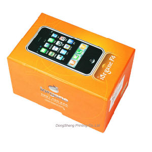 Latest Design Paper Gift Box for Cell Phone