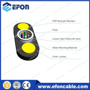 ADSS Long Span Glass Yarn 6/12fiber Optical Fiber Cable pictures & photos