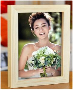 "Wood 7"" Photo Frame, Promotional A3 Photo Wall Frame pictures & photos"