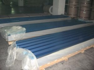 Aluminium/Aluminum Corrugated Roofing Sheet (A1100 1050 1060 1100 3003 3105 8011) pictures & photos