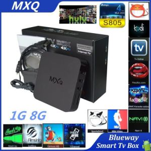 Amlogic S805 Quad Core 4k*2k, Xbmc, 1g+8g Android 4.4 Mxq TV Box pictures & photos