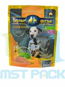 Pet Food Plastic Stand up Pouch with Ziplock pictures & photos