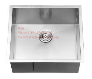 18X22 Inch Stainless Steel Under Mount Single Bowl Handmade Kitchen Sink pictures & photos
