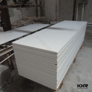 Artificial Stone 12mm Glacier White Acrylic Solid Surface pictures & photos