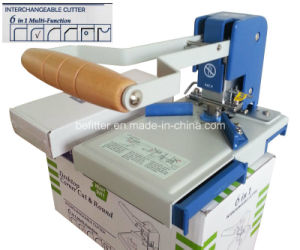 S100 Desktop Manual 6 in 1 Round Corner Cutter Machinery pictures & photos