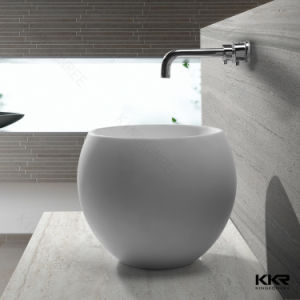 Above Countertop Sink Resin Stone Basin and Sink pictures & photos