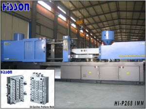 Servo Motor Energy Saving Pet Preform Injection Machine Hi-Sv-P268 pictures & photos