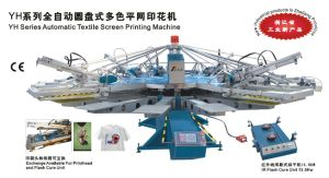 Yh Automatic T Shirt Silk Screen Printing Machine/Screen Printer pictures & photos