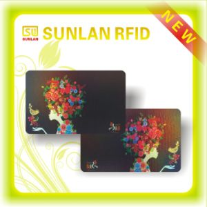 Full Color Printing Magnetic Stripe Smart Card with I-Code Sli Chip pictures & photos