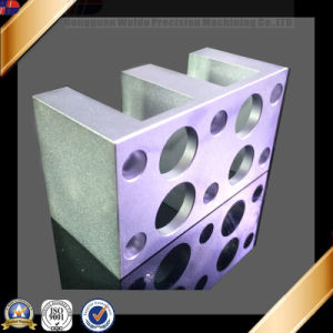 Clear Anodized CNC Aluminum Machined Part for Food machinery pictures & photos