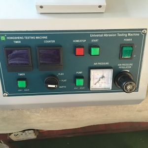 Textile and Fabric Abrasion Test Instrument pictures & photos