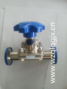 Stainless Steel Two Way Sanitary Diaphragm Valve pictures & photos