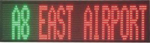 Color LED Moving Display Sign pictures & photos