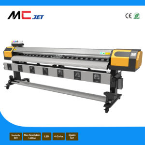 1.9m Large Format Eco Solvent Printer Plotter with Double Printheads of Epson Dx7 pictures & photos