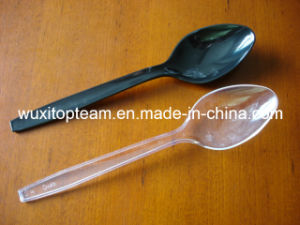 "9"" PS Plastic Serving Scooper (Clear or Black Disponsable)"