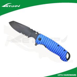 Hotsale Folding Tactical Tranining Knife with Black Blade