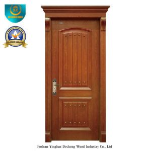 Simplified European Style Solid Wood Door for Interior (ds-8015) pictures & photos