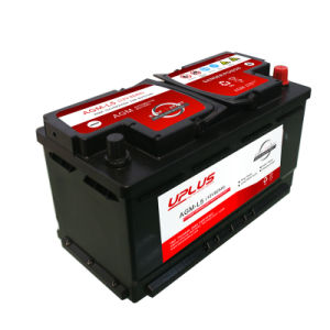 AGM-L5 High Capacity 12V AGM Start-Stop Auto Battery pictures & photos