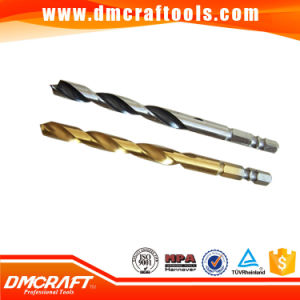 Jobber Length HSS Hex Shank Tin Coated Drill Bit pictures & photos