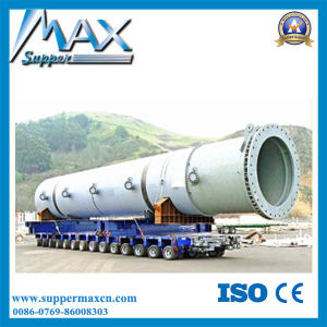 High Tensile Steel Semi Trailer Type Hydraulic Detachable Gooseneck Lowbed Semi Trailer for Sale pictures & photos