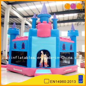 Giant Pink Castle Bounce House (AQ503) pictures & photos